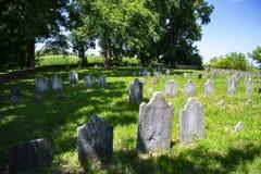O cemitério o mais velho no Condado de Lancaster, PA imagem de stock royalty free