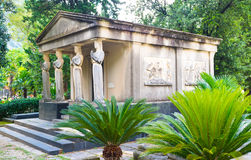 O cemitério velho Foto de Stock