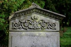 O cemitério velho Imagem de Stock Royalty Free