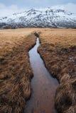 O cenário bonito de Islândia do leste foto de stock royalty free