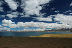 O cenário de Tibet Foto de Stock Royalty Free