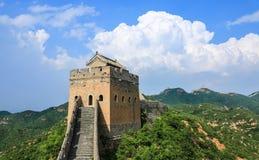 O cenário do Grande Muralha Fotografia de Stock Royalty Free