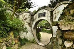 O cenário do jardim do administrador humilde em Suzhou, China fotografia de stock