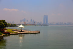 O cenário do lago Fotografia de Stock Royalty Free