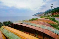 O cenário do lago do erhai Imagens de Stock Royalty Free