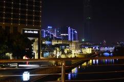 O cenário do lago Jinji em Suzhou, China Imagem de Stock Royalty Free