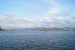O cenário do mar Fotos de Stock Royalty Free