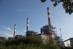 O central elétrica da incineração do lixo em SHENZHEN CHINA ÁSIA Imagens de Stock Royalty Free