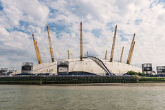 O2 centre next to the river Thames, London Stock Image