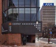 O centro cívico Foto de Stock Royalty Free