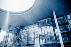 O centro cultural de Jiangyin Fotografia de Stock Royalty Free