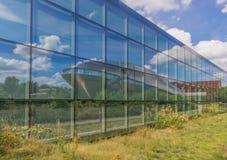 O centro da ciência de Universum de Brema, Alemanha foto de stock
