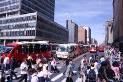 O centro da cidade em Bogotá, Colômbia Foto de Stock