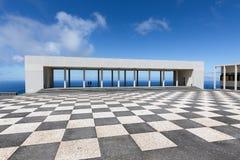 O centro da cultura em Ponta faz Pargo na ilha de Madeira fotos de stock royalty free