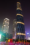 O centro da finança internacional de Guangzhou Imagens de Stock