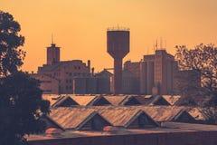 O centro de cidade velho em Lusaka foto de stock royalty free