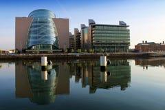 O centro de convenção Dublin Imagens de Stock Royalty Free
