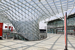 O centro de exposição do ró perto de Milão, Italy Foto de Stock Royalty Free