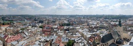 O centro de Lviv Imagem de Stock Royalty Free