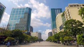O centro de negócio moderno da cidade nos malaios fotos de stock