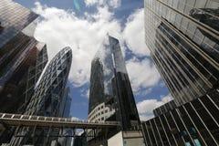 O centro de negócios de Paris Imagem de Stock