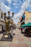 O centro de Santo Domingo imagem de stock