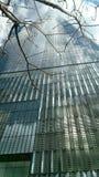 O centro do comércio mundial aumenta das cinzas Imagens de Stock