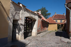 O centro FO Tallin foto de stock