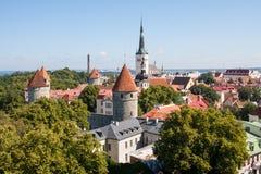 O centro FO Tallin imagem de stock