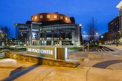 O centro Greenville South Carolina da paz Imagem de Stock Royalty Free
