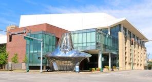 O centro para artes de palco, Memphis Tennessee do centro do canhão imagem de stock royalty free