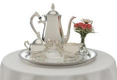 O chá é serido Fotos de Stock Royalty Free