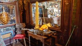 O Château da sala da curiosidade de Courmatin Fotografia de Stock