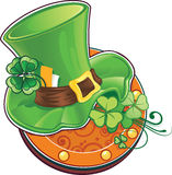 O chapéu do leprechaun Fotografia de Stock Royalty Free