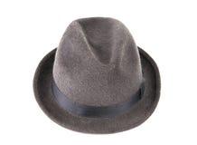 O chapéu dos homens isolado Fotografia de Stock Royalty Free