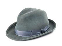 O chapéu dos homens isolado Imagens de Stock