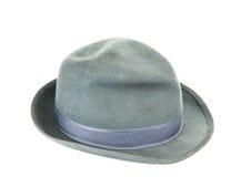 O chapéu dos homens isolado Foto de Stock
