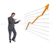 O Chart1 Fotos de Stock Royalty Free
