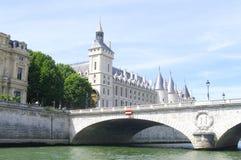 O Chatelet em Paris Fotografia de Stock