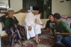 O chefe da polícia de Tito Karnavian visitou o Pondok Pesantren Raudlatut Thalibin Rembang Fotos de Stock Royalty Free