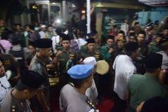 O chefe da polícia de Tito Karnavian visitou o Pondok Pesantren Raudlatut Thalibin Rembang Imagem de Stock Royalty Free