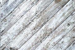 O chique gasto cinzento resistido rachado pintou a textura da placa de madeira, imagens de stock