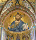 O Christ Pantokrator imagens de stock royalty free