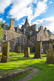 O Churchyard de Canongate fotografia de stock royalty free