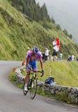 O ciclista Alessandro Petacchi Imagens de Stock
