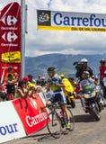 O ciclista australiano Simon Clarke Fotos de Stock