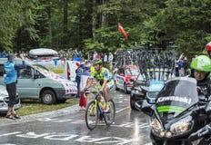 O ciclista Daniele Bennati Fotos de Stock Royalty Free
