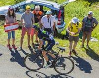 O ciclista Ion Izagirre - Tour de France 2016 Imagens de Stock