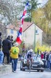 O ciclista Laurent Didier - 2016 Paris-agradável Fotografia de Stock