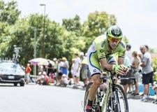 O ciclista Marco Marcato - Tour de France 2014 Fotografia de Stock Royalty Free